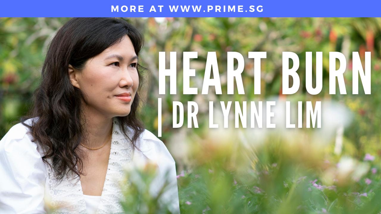 Impromptu shoot with mobile phone | Dr Lynne Lim | Heart burn