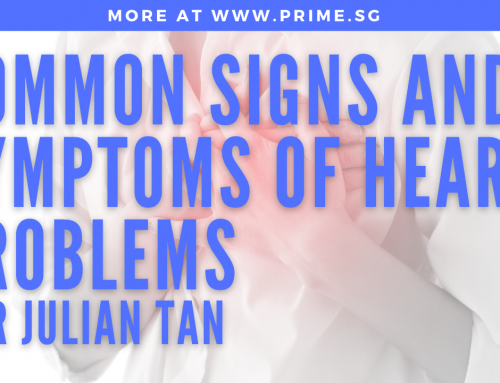 Impromptu shoot with mobile phone: Dr Julian Tan | Common Signs and Symptoms of Heart Problems